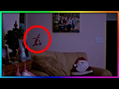 Elf On A Shelf Caught Moving On Camera