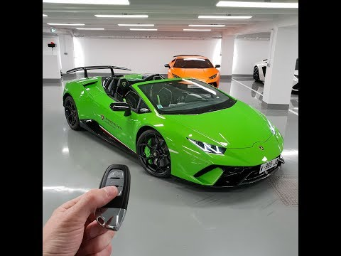 The day I fell for the newest Lamborghini the Huracan Performante Spyder