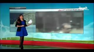 UNBELIEVABLE!!     إنقاذ إمرأة من الموت جرفتها السيول Amazing!!! - HD