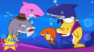 Baby Shark - English cartoon - Nursery Rhyme video - Kids song with lyrics - English Song For Kids