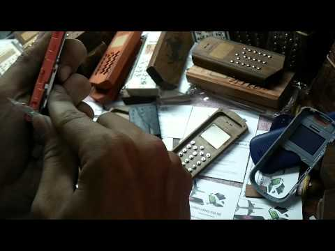 hướng dẫn tháo lắp vỏ gỗ điện thoại