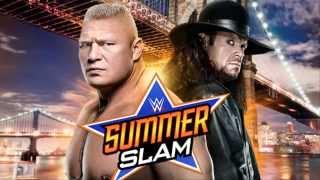 SummerSlam 2015 Brock Lesnar vs Undertaker 2015 : Muchos fanaticos furiosos