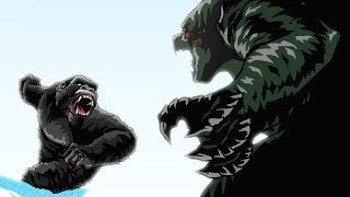 Godzilla vs. King Kong Animated (Part 3/3)