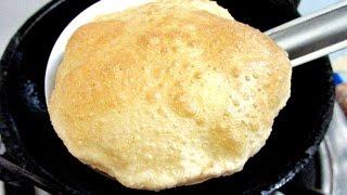 Poori/Puri - Indian Fried Bread