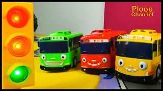 SCHOOL of LIGHTS! - TAYO Little Bus story to Learn Road Traffic Rules Videos for kids - Toy Cars 타요