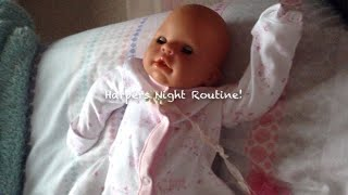 Harpers Night Routine