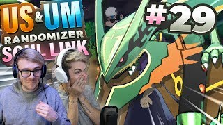 WHY DOES SHE HAVE THIS?! (Pokemon USUM Randomizer Soul Link • #29 • w/ FeintAttacks)
