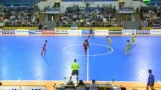 Thailand vs Iran 5-4 [Semi Finals] AFC Futsal Championship 2012
