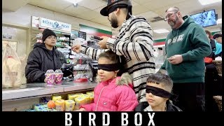 24 HOUR BIRD BOX CHALLENGE!!