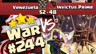 Venezuela vs Invictus Prime | Pleno con 39 GLOBOS y AQ Walk vs TH10 | GoHoWi | Clash of Clans