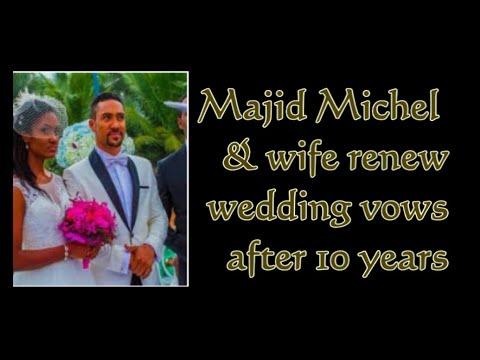 Majid Michel and wife Virna Michel renew wedding vows | GhanaGist.com Video