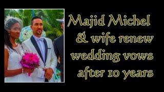 Majid Michel and wife Virna Michel renew wedding vows | @GhanaGist Video