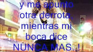 Ni una sola palabra - Paulina Rubio (con letra)