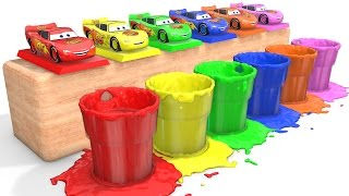 MCQUEEN Colors for Babies - Learn Cars & Learning Educational Video - Bus Superheroes for Kids
