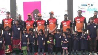 IPL Sunrisers Hyderabad Team At Apollo Hospitals  - Hybiz.tv