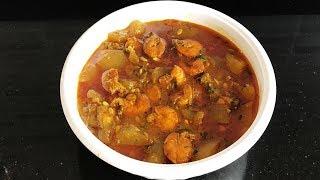 লাউ চিংড়ির সহজ রান্না Prawn Curry | Lau Chingri | Bengali Recipe | Lovely Khan