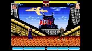 K.o.F vs Street fighter Nes Mugen.2014