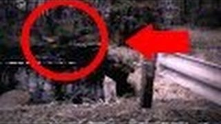 Michigan Dogman Toadman caught on Video | Cryptids caught on tape | supernatural   NEW 2016