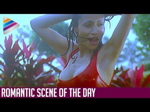 Antara Mali having Shower | Exclusive Video | Romantic Scene Of The Day | Mayam Telugu Movie