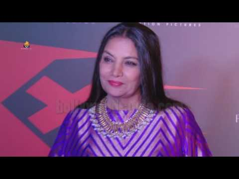 XXX Return Of Xander Cage: Shabana Azmi Visit At Red Carpet Premier Show 2017