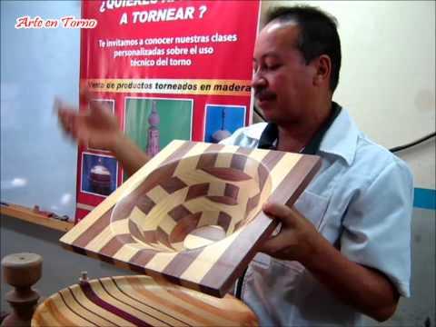 Arte en Torno Técnicas del torneado de la madera