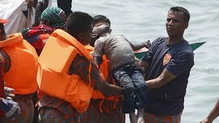Bangladesh ferry sinking death toll rises to 65