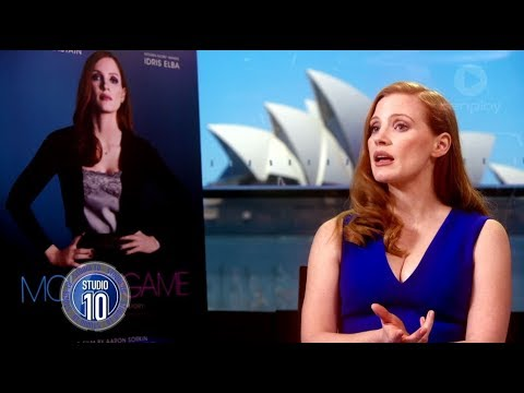 Jessica Chastain Talks 'Molly's Game' & Fighting For Equal Pay | Studio 10