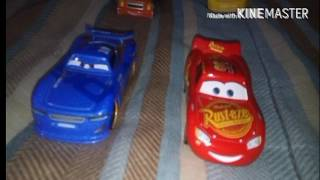 Cars 3 Choque Del Rayo McQueen Stop Motion