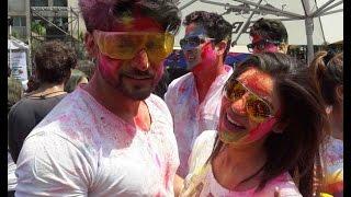 Indian Television Actors' Holi Celebrations