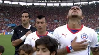 Chile national anthem vs Spain