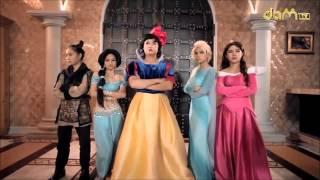 DAMtv Bạch Tuyết vs Phù Thủy Maleficent (Full cực hài sud)