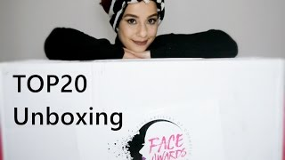NYX Face Awards Türkiye 💜 TOP 20 Unboxing - Kutu Açılımı