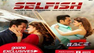 Selfish Song Video Race 3 Salman Khan Bobby Jacqueline Atif Aslam