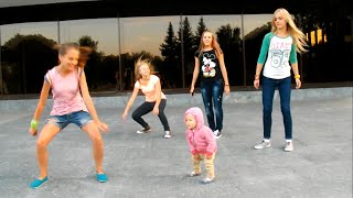 Малышка круто танцует! Хип-хоп дети. Порвали интернет