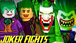 Evolution of Joker Battles in LEGO Batman Games (2008-2017)
