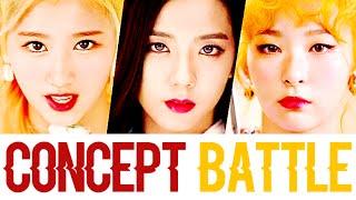 Red Velvet VS Twice VS Black Pink (Concept Battle)