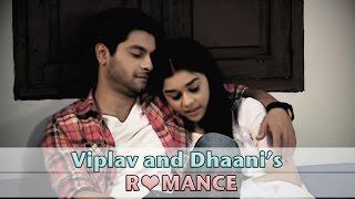 Viplav and Dhani's romance from the sets of Ishq  Ka Rang Safed