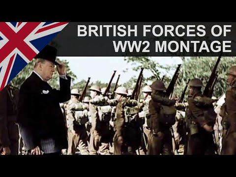 British Armed Forces | We Shall Never Surrender | WW2 Tribute | HD