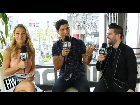 Watch Dan + Shay Impersonate Each Other (HOTSEAT) | Hollywire