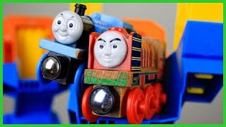 THOMAS AND FRIENDS THE GREAT RACE YONG BAO Playtime with Thomas Ashima Merlin James
