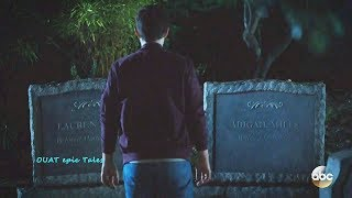 Once Upon A Time 7x03 Henry Finds His Family's Graves -Lauren & Abigail Mills Season 7 Episode 3