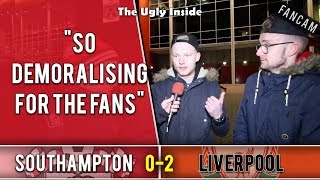 So demoralising for the fans | Southampton 0-2 Liverpool | The Ugly Inside