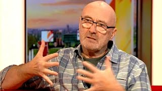 """Phil Collins: """"Don't Play Drums That Well Anymore!"""""""