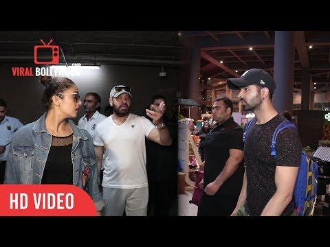 Xxx Mp4 Salman Khan's Bodyguard Son Tiger Spotted With Huma Qureshi At Mumbai Airport Shera's Son Tiger 3gp Sex