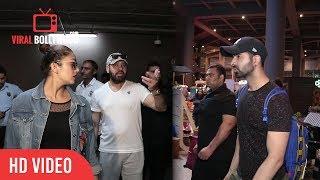 Salman Khan's bodyguard Son Tiger Spotted With Huma Qureshi At Mumbai Airport | Shera's Son Tiger