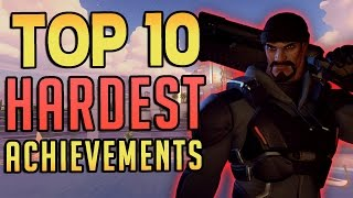 Top 10 Hardest Achievements - Overwatch
