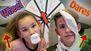 Wheel of Dares! (MattyBRaps vs Olivia Haschak)