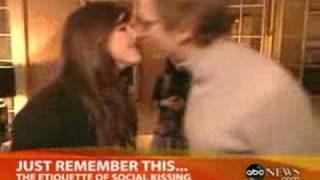 The Etiquette of Social Kissing