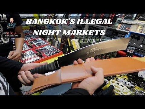 Bangkok s Illegal Night Markets Martial Diaries 006