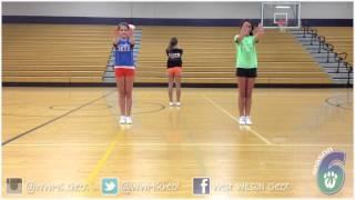 Youth Cheer Dance Tutorial